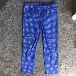 OLD NAVY Pixie Slim Straight Leg Pants 8